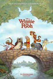 Movie Poster for the new Winnie the Pooh movie