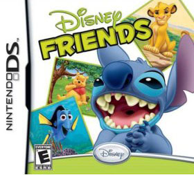 Disney Friends DS game
