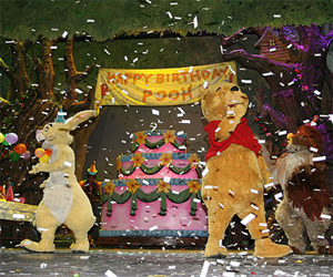 Celebrate Pooh's birthday