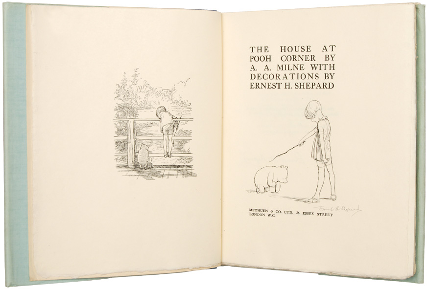 The House at Pooh Corner illustration