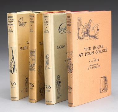 Photo of old Pooh classic books