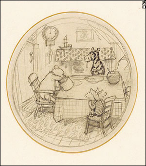 Shephard Pooh Classic Drawing