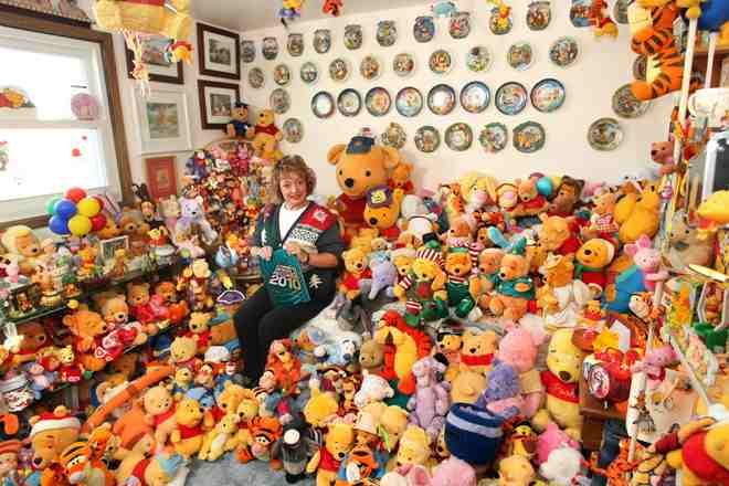 Large collection of Pooh memorabilia