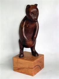 Pooh wooden sculpture