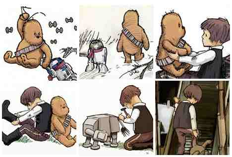 Pictures from Pooh Star Wars