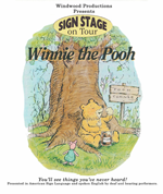 Winnie the Pooh sign language show